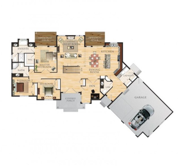 The Eddystone Floor Plan