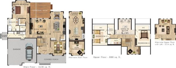 The Killarney FlooR Plan