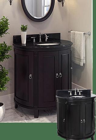 Custom Bathroom Vanities Cincinnati bathroom vanities in louisville, cincinnati & newport • builders