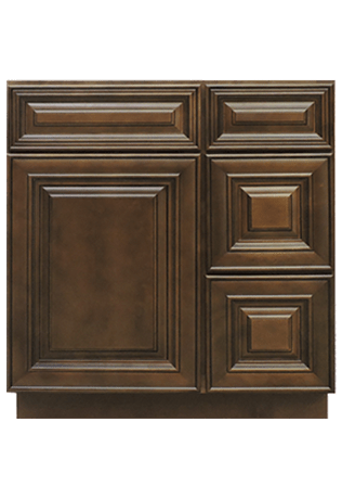 Summit Saddle Raised Panel Bathroom Vanities