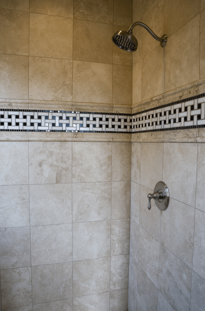 the perfect mosaic tile shower combinations • builders surplus