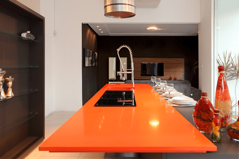 Naranja Cool Silestone Why Buy Quartz Countertops
