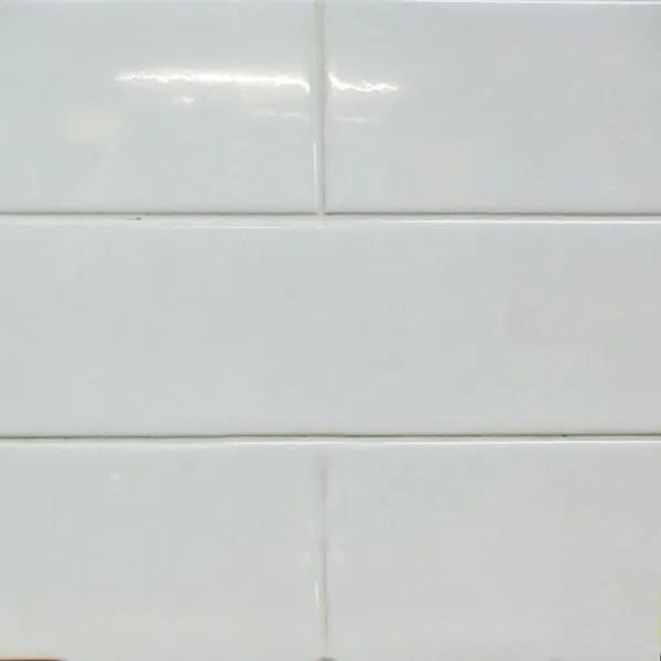 4x16 glossy white ceramic subway tile