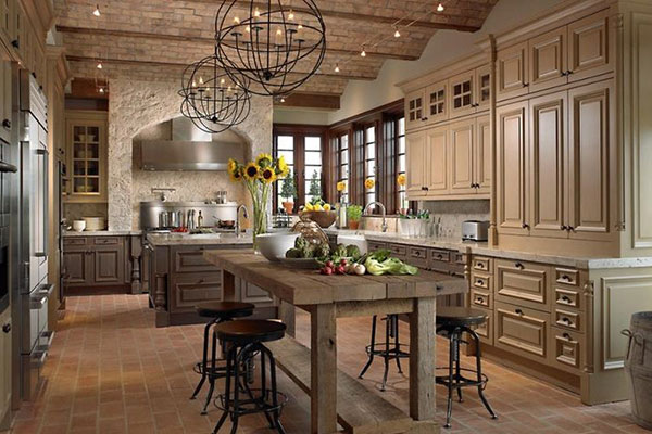 New Country Kitchen Designs