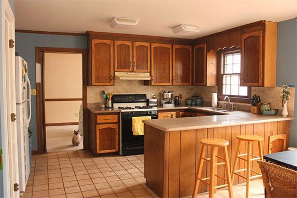 Modern U Shaped Kitchen Designs