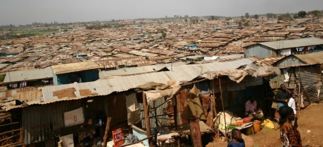 A view of Kibera Slums