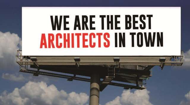 Architect Billboard