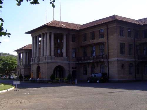 The Railway headquarters as is today.