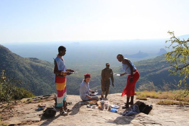 The native Samburu people are an integral part of the lodge and complete the experience