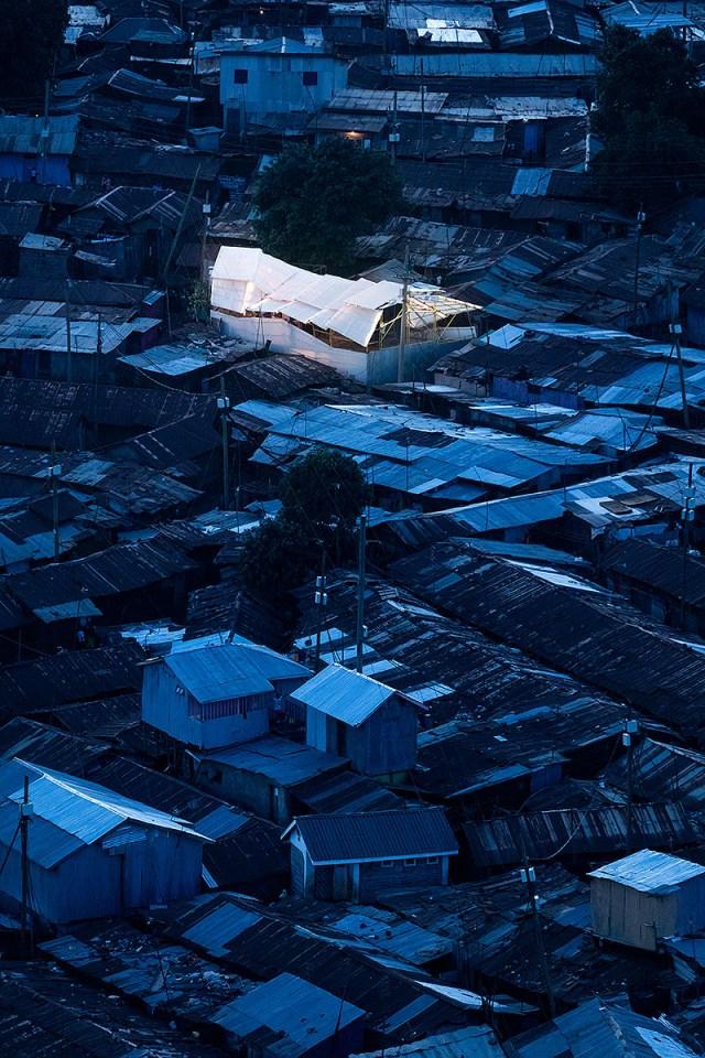 The Kibera Hamlets school in Kibera.