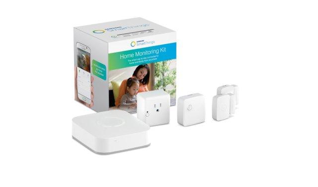 The Basic Samsung SmartThings kit