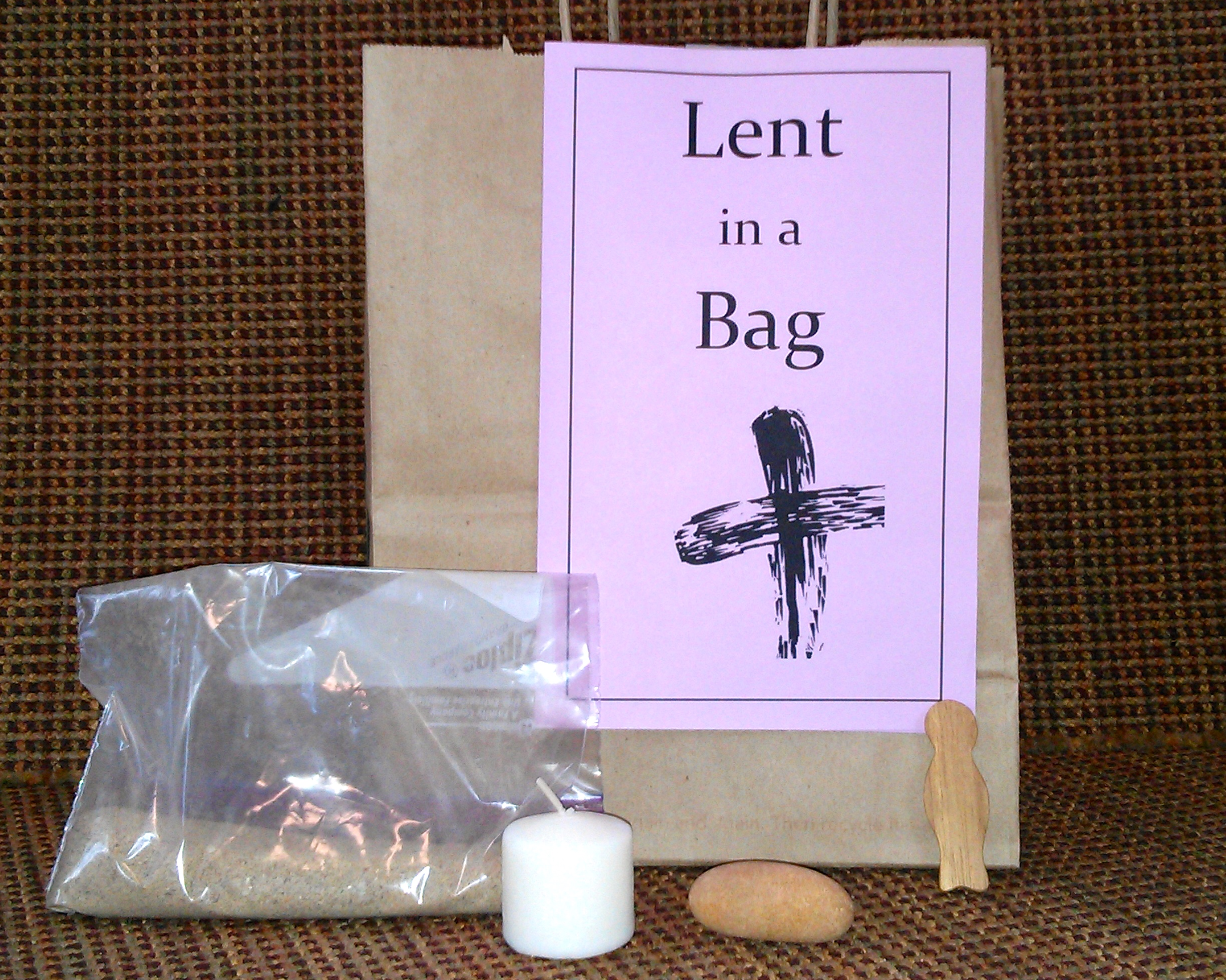 Lent In A Bag An Activity For Church Or Home