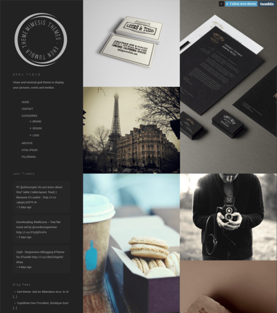 eren dark tumblr theme