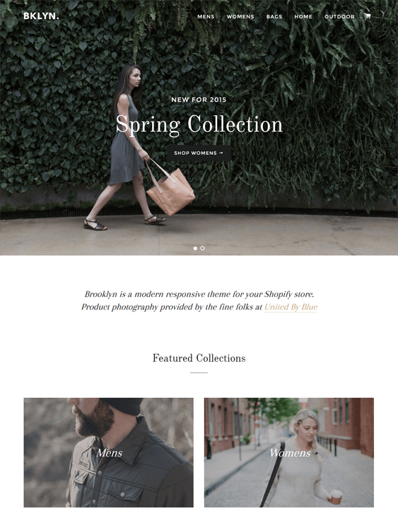 brooklyn apparel clothing shopify themes