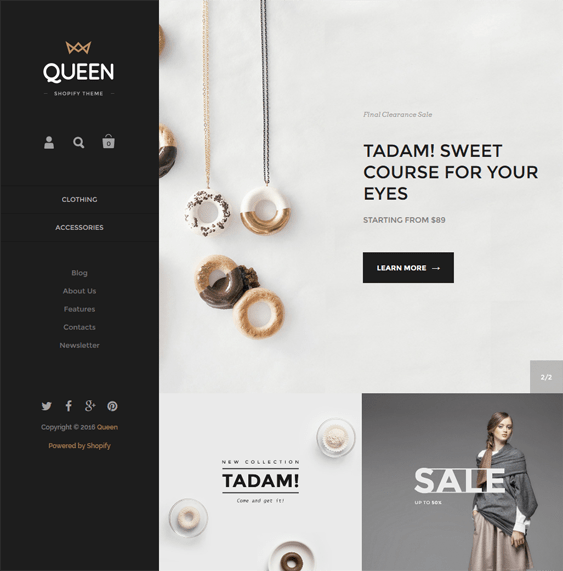 kingdom clean shopify themes