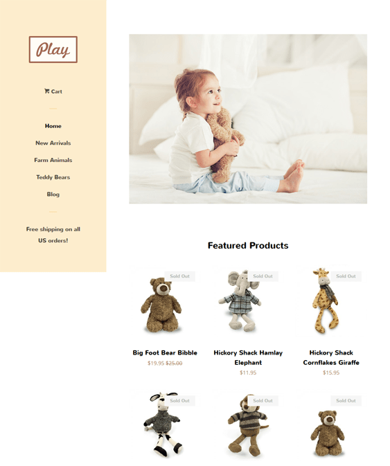 pop toy free shopify themes