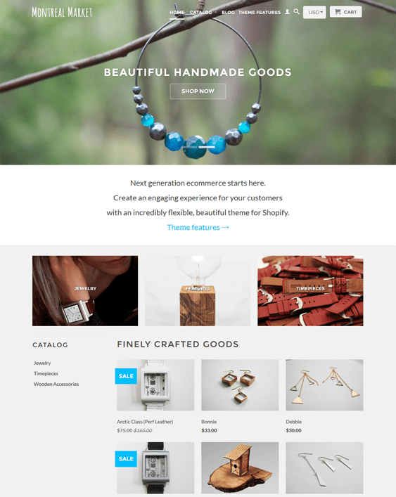 retina jewelry shopify themes