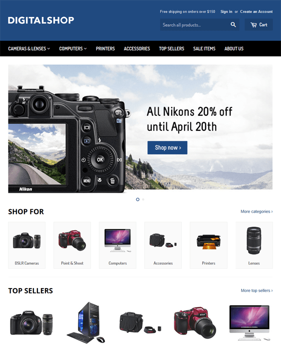 supply electronics shopify themes