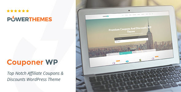 Couponer by Pebas (WordPress theme)