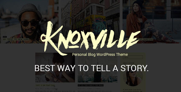 Knoxville by GT3themes (video blog WordPress theme)