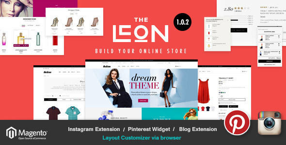 Leon by ShopShark (Magento theme)
