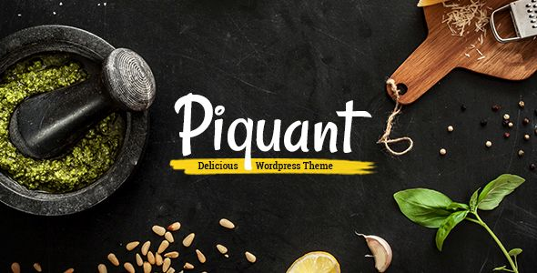 Piquant by Mikado-Themes (WordPress theme)