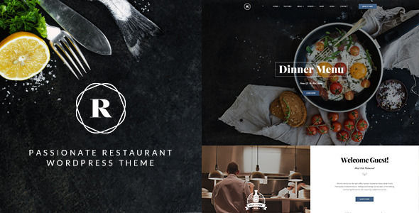 Restaurant by ThemeMove (WordPress theme)