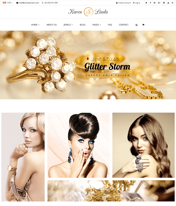 linda jewelry shopify themes