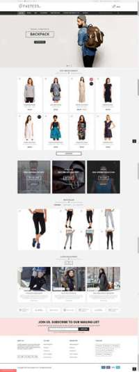 Fastest - Magento themes - Magento - - Magento - Multi-Purpose Responsive Theme - Design