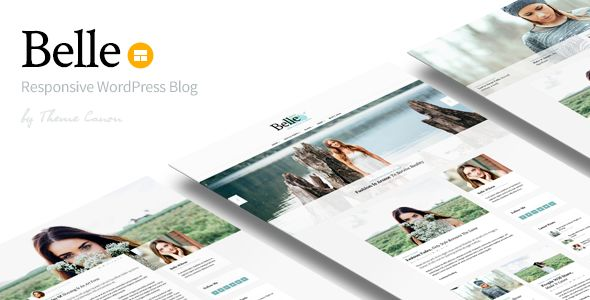 Belle by ThemeCanon (magazine WordPress theme)
