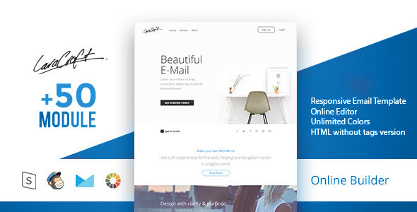 Carft by Masline (email templates for use with Mailchimp)
