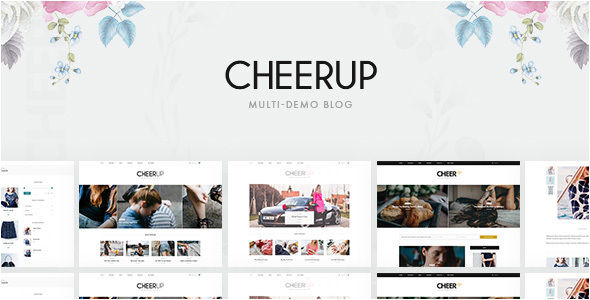 CheerUp by ThemeSphere (magazine WordPress theme)