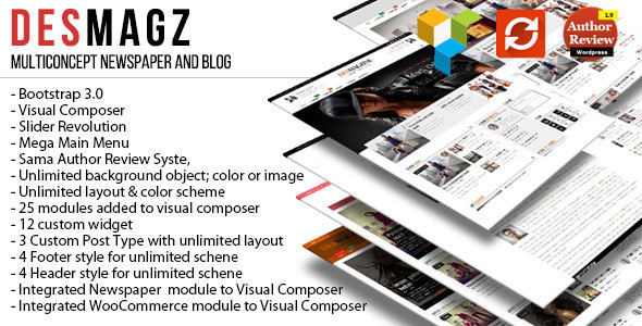 DesMagz by RepublikWP (magazine WordPress theme)