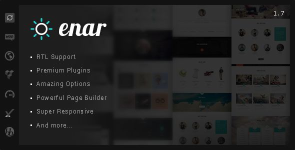 Enar by IdealTheme (multi-purpose WordPress theme)