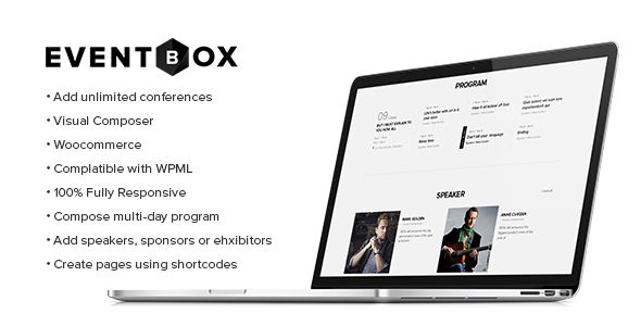 Eventbox by Beautheme (event & conference WordPress theme)