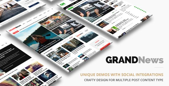 Grand News by ThemeGoods (magazine WordPress theme)