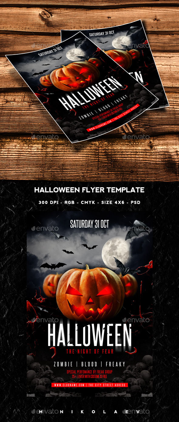 133 Spooktacular Halloween Party Flyers *MEGAPOST* – Buildify