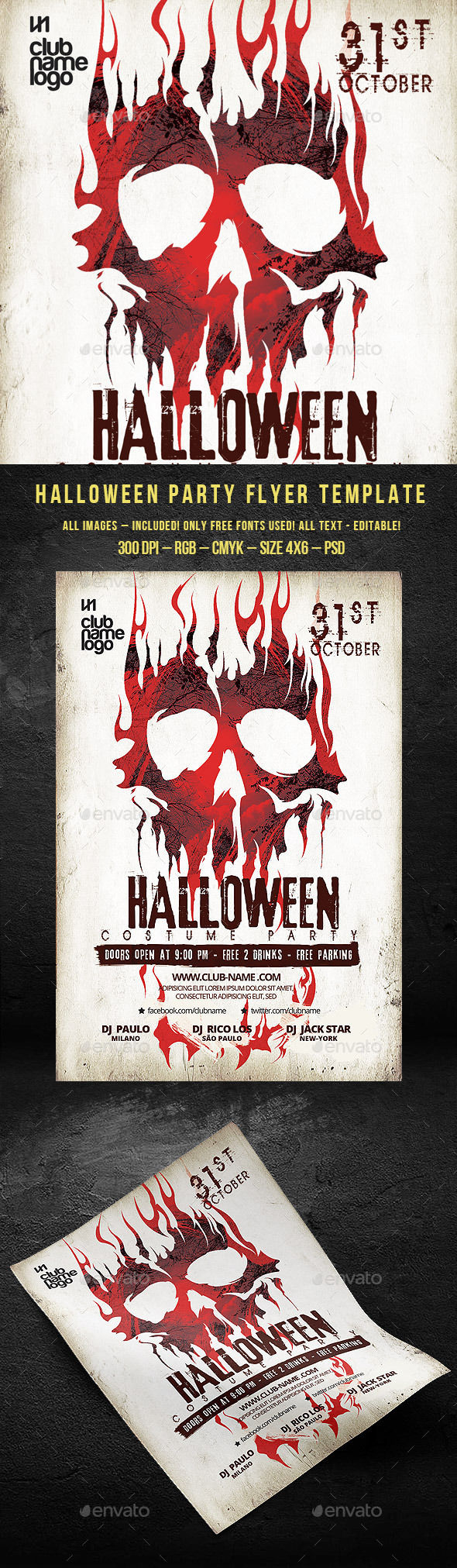 Halloween Party by BigWeek (Halloween party flyer)
