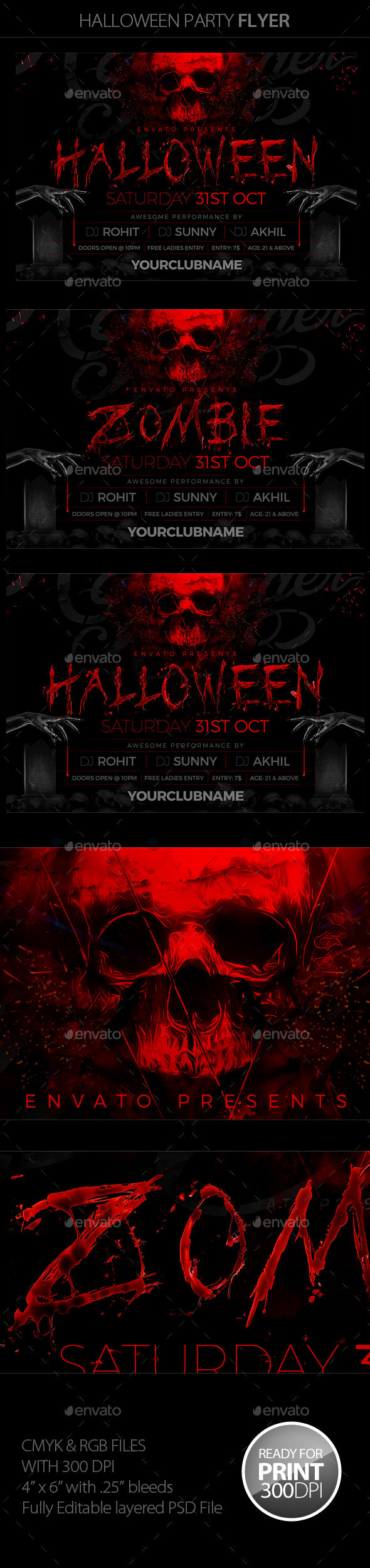 Halloween Party by Mantushetty (Halloween party flyer)
