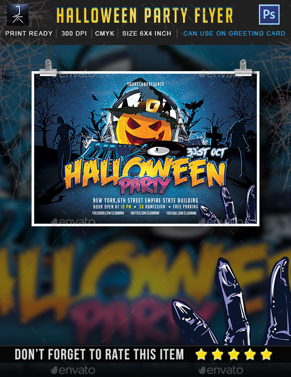 Halloween Party by Jktlp6883 (Halloween party flyer)