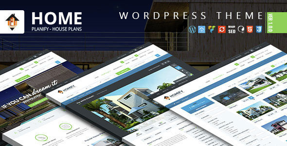 Home Planify by Joomlavi (real estate and realtor WordPress theme)