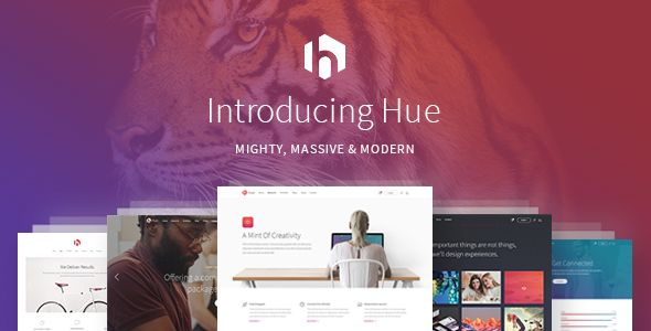 Hue by Mikado-Themes (multi-purpose WordPress theme)