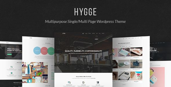 Hygge by Tommusrhodus (multi-purpose WordPress theme)