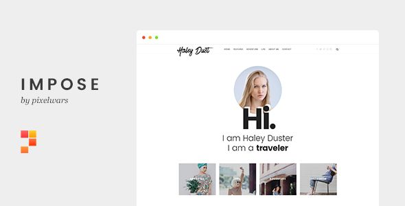 Impose by Pixelwars (magazine WordPress theme)