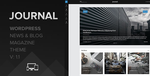 Journal by NillTheme (magazine WordPress theme)