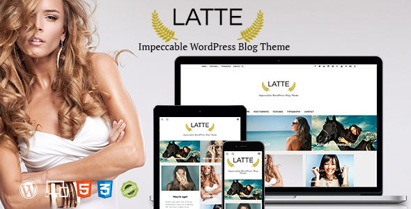 Latte by Thebearthemes (magazine WordPress theme)