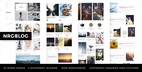 NRGBlog by NRGThemes (magazine WordPress theme)