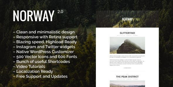 Norway by MajorThemes (magazine WordPress theme)
