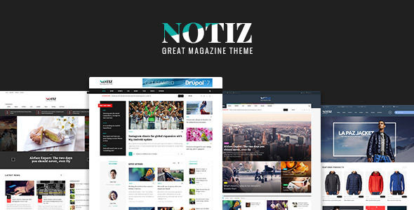 Notiz Clean Magazine WordPress Theme by Opal_WP (magazine WordPress theme)