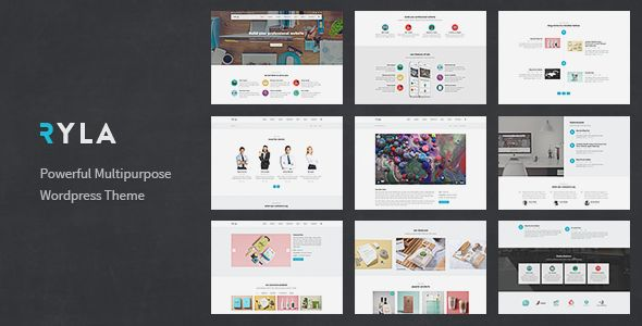 Ryla by Tommusrhodus (multi-purpose WordPress theme)